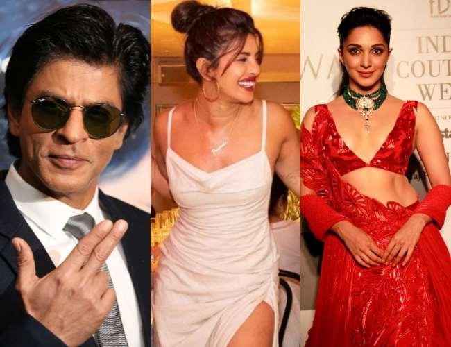 Priyanka Chopra, Shahrukh Khan and Kiara Advani