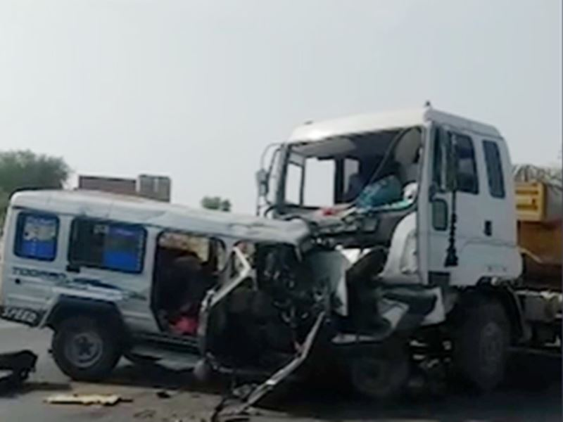 Truck Accident Nagour