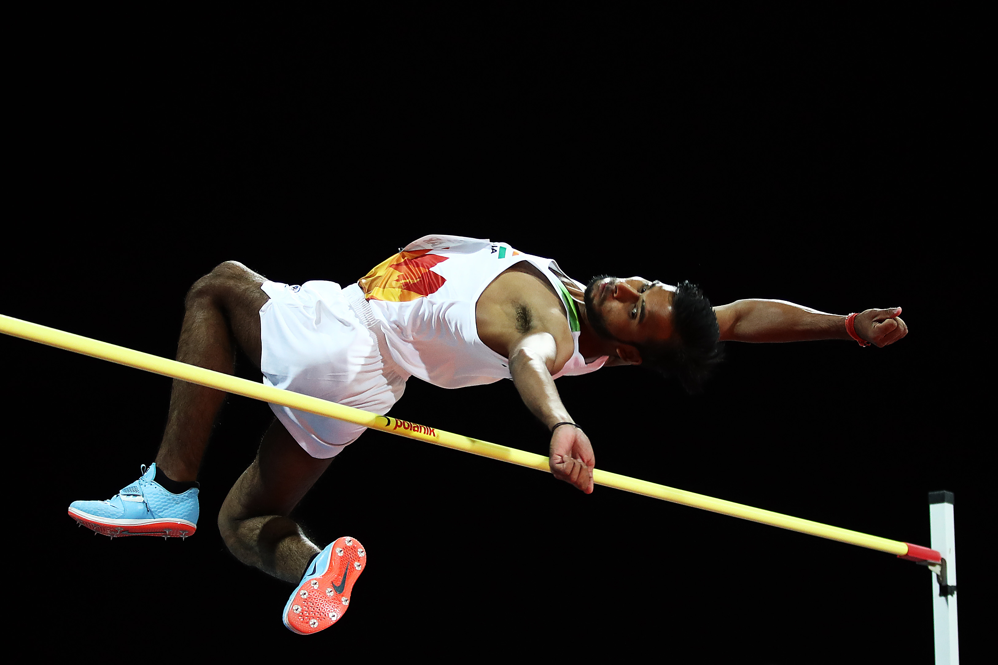 A new Asian Record for Praveen Kumar as he jumps 2.07m in Men's High Jump