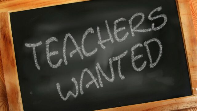 Recruitment of teachers in danger