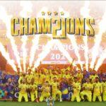 Chennai wins ipl